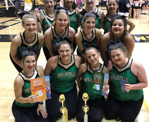 Dance Team Competition Picture