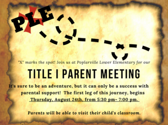 Title Parent Meeting