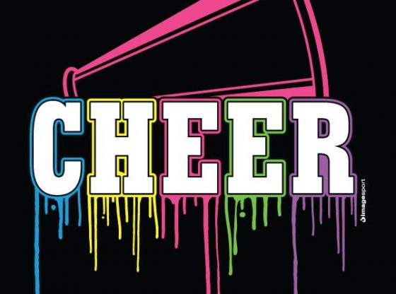 cheer graphic for story