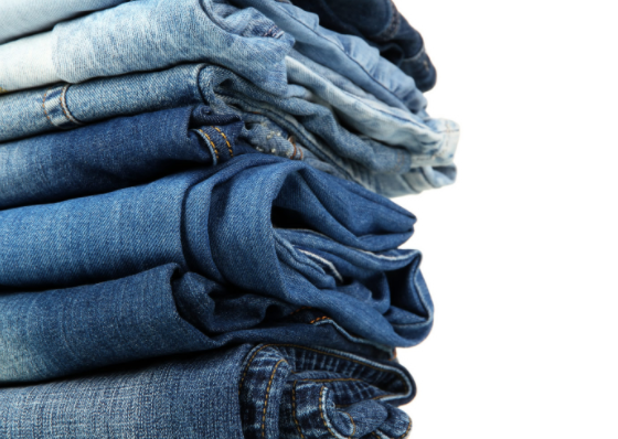 picture of a stack of jeans