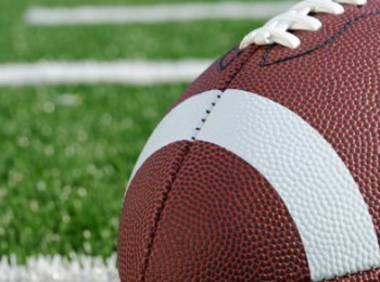 graphic of a football