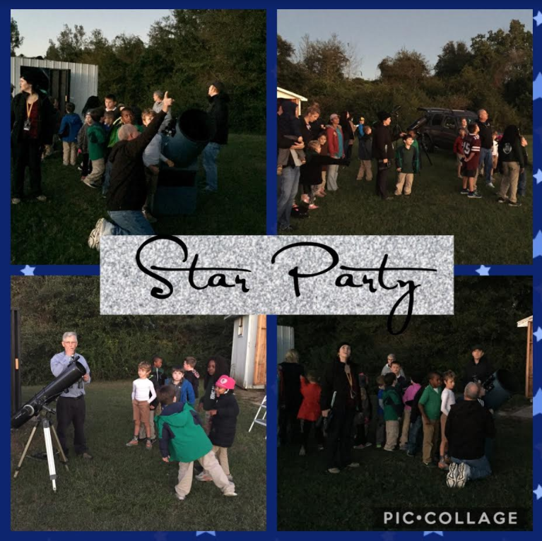 Star Gazing Party Picture Composite