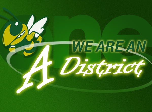 We Are An A District Graphic