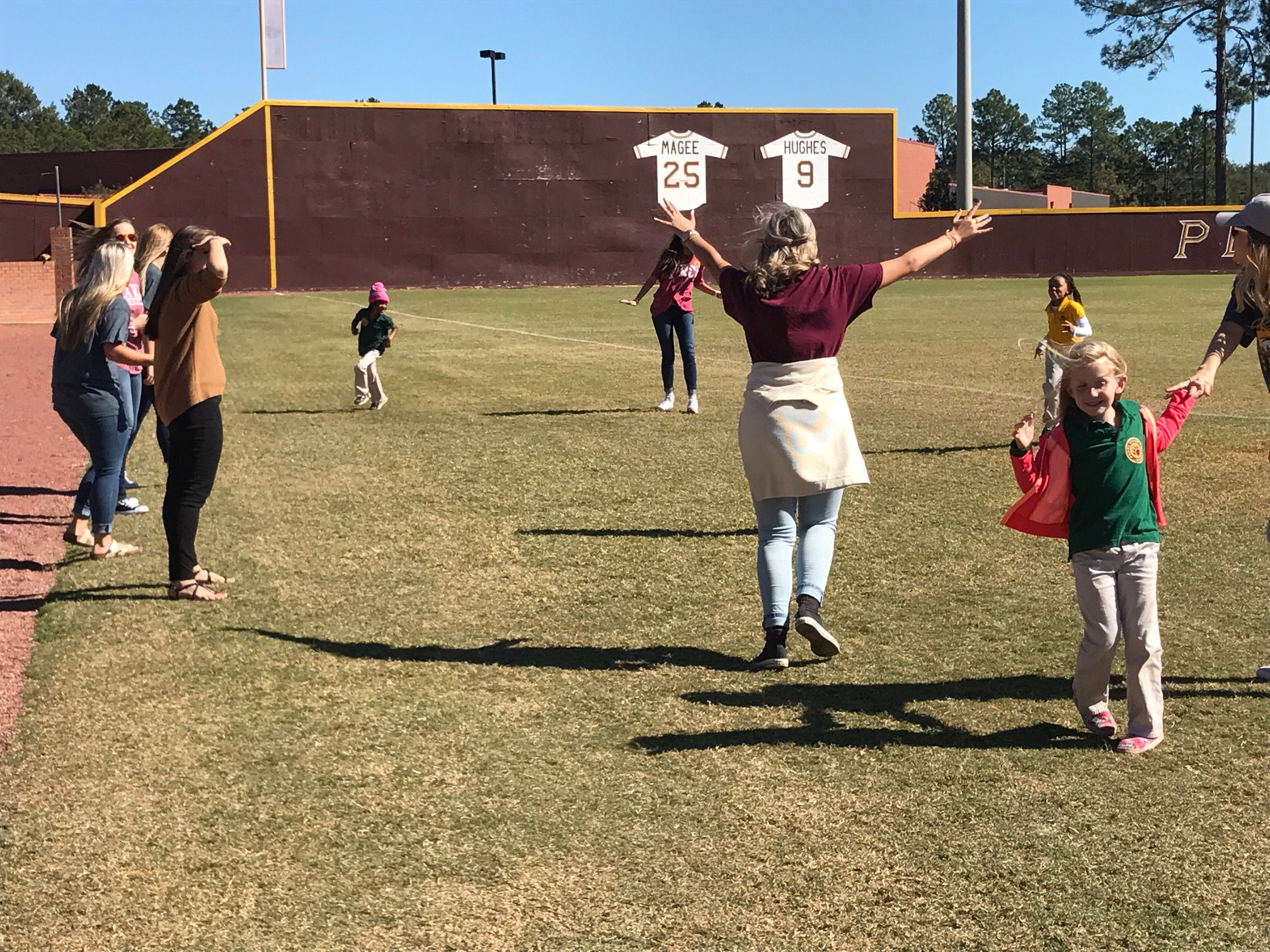 PRCC Students and PLE Students Have Fun
