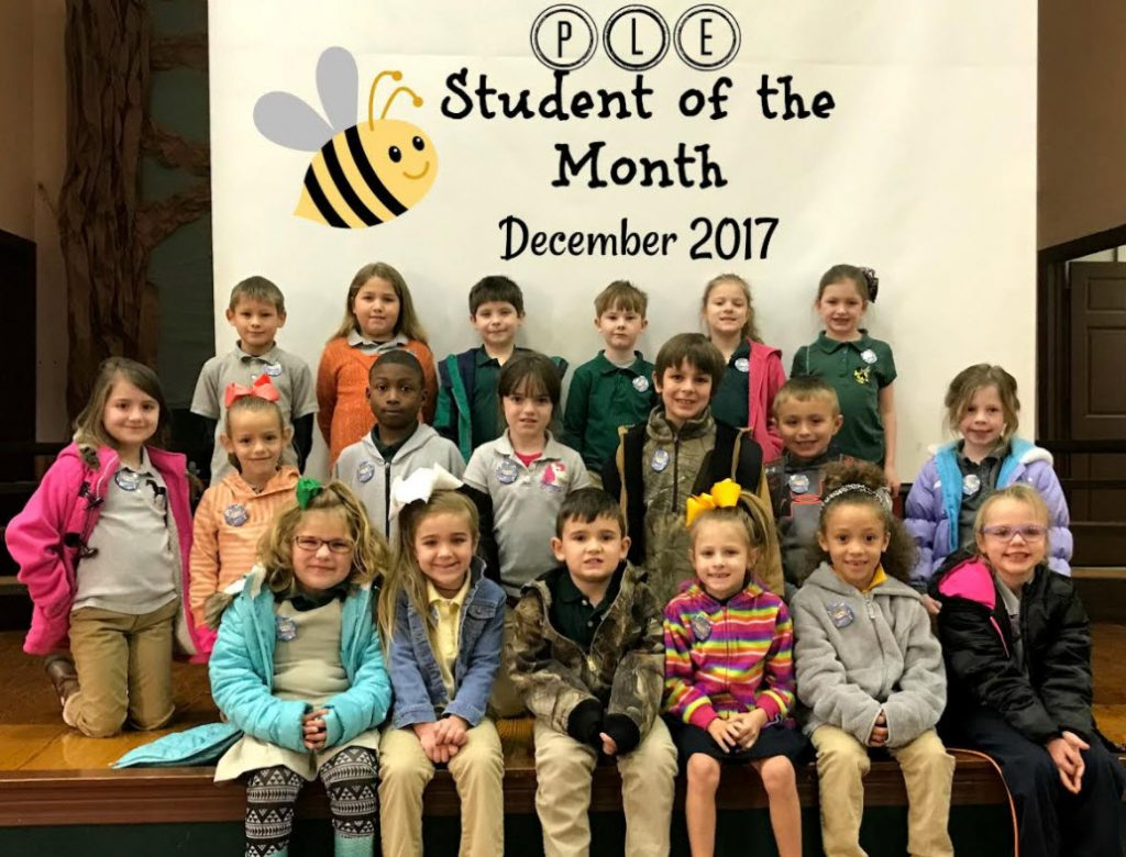 PLE Students of the Month