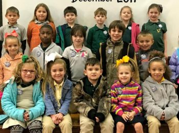PLE Students of the Month for December