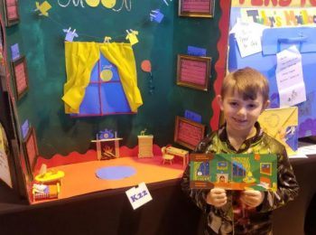 Abel Represents PLE at Reading Competition
