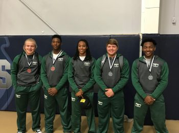 PHS Power-lifting team at South State Competition