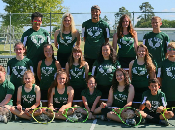 PHS Tennis Team Picture of students on the team