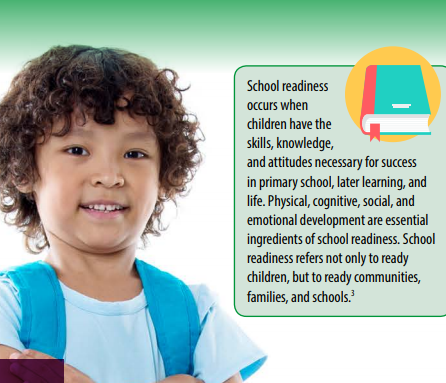 Preparing a School ready Child Flyer Picture