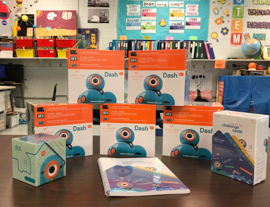 PLE Gifted Grant Robots