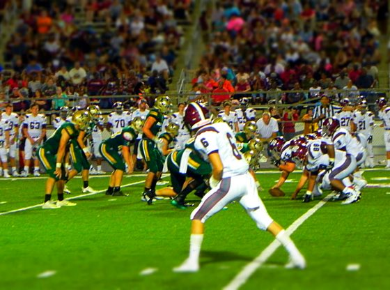 Football @ Picayune 8-22-18