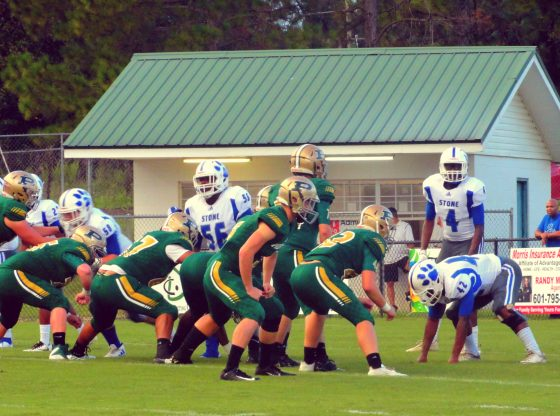Poplarville faces down Stone County.