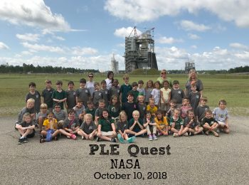 PLE Quest classes travel to NASA for a trip to talk with scientist about what it is like to work at NASA