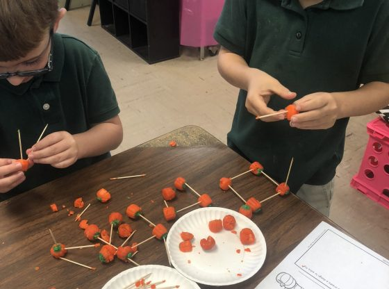 Students create STEM for Halloween