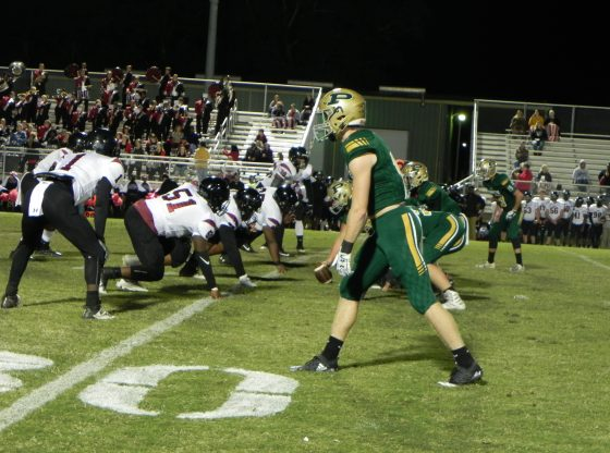Poplarville Hornets versus Lawrence County