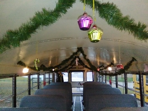 Bus Christmas Decorations