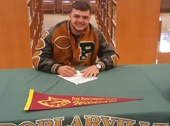 PHS Hornets player Ross Barnett signs on with PRCC.