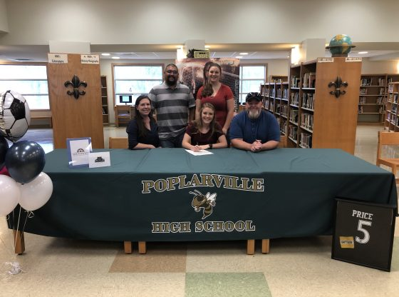 Karlee Price athlete signing