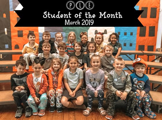 PLE March Student of the Month