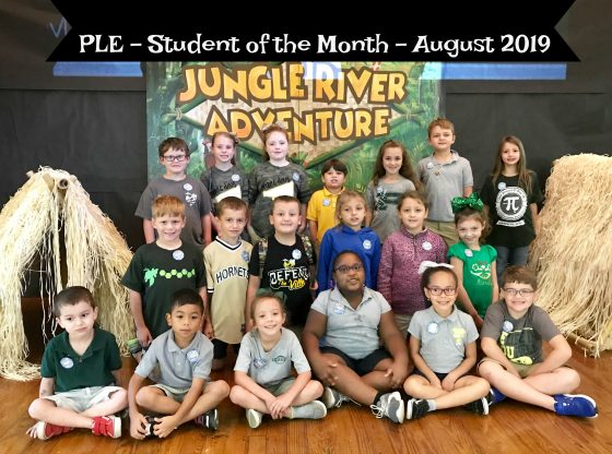 August Student of the Month - PLE