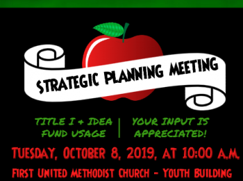 STRATEGIC PLANNING MEETING OCT 8TH