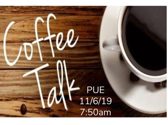 PUE Coffee Talk
