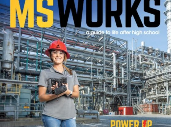 Magazine Cover for MS Works
