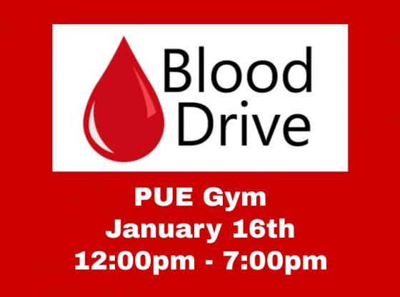 PUE Blood Drive