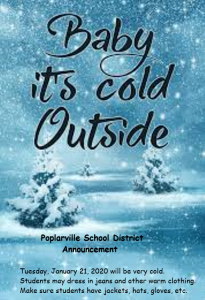 Warm clothing for all in Poplarville School District