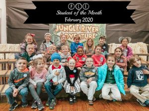 Student of the Month - FEB 2020
