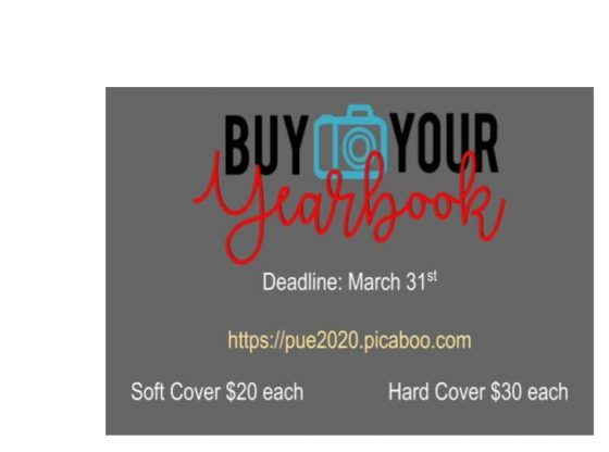PUE Yearbook Sales