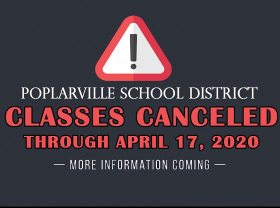 Classes Cancelled through April 17, 2020
