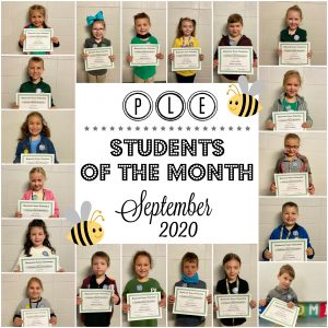 PLE Student of the Month