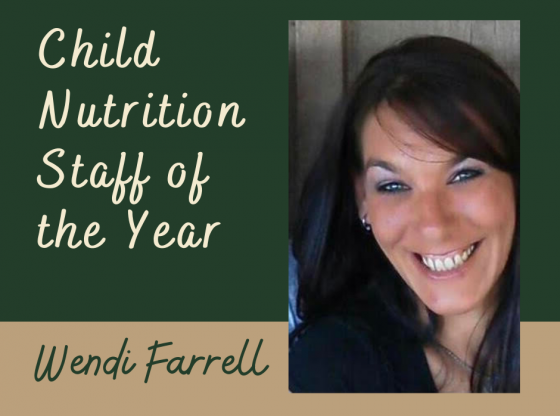 Child Nutrition Staff of the Year