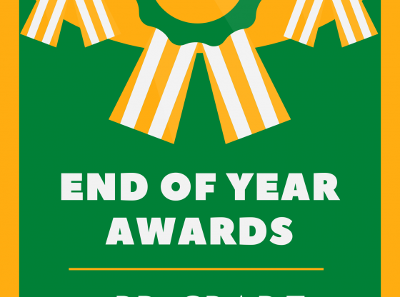 PUE End of Year Awards